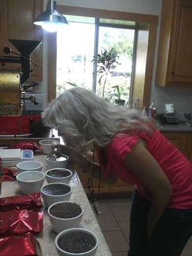 Paula Cupping Coffee